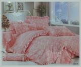 田园系列韩版全棉公主花边四件套 全棉四件套