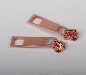 3号镀镍合金锌合金属拉头
