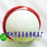 五彩感官布球 橡胶实心球 硅胶实心球 PVC弹力球