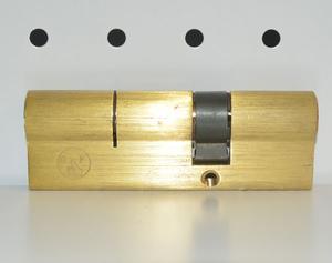 金手指防盗门专用锁芯 超B级锁芯