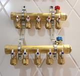 兴凯诺迪暖通商行 本色地暖分水器 DN25