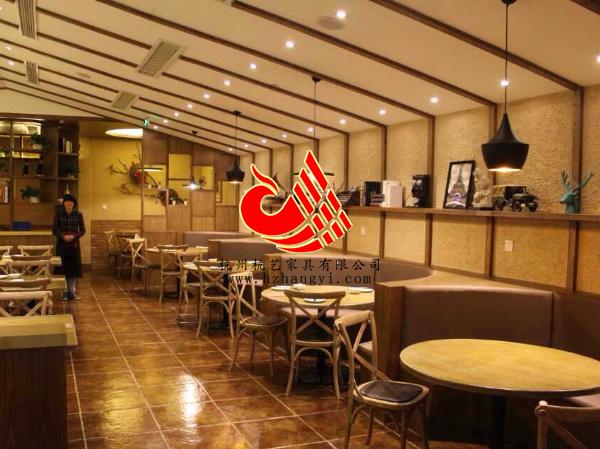 浙江商务酒店宴会厅家具餐桌椅,主题餐厅桌椅订制图片
