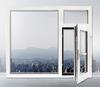 平开窗户落地窗钢化玻璃塑钢门窗三层玻璃中大型材鑫豪