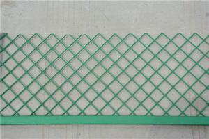 冷拔丝浸塑车间隔离网绿色