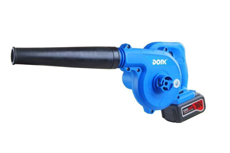 东科 36V锂电吹风机 强力电动吃风机锂电充电吹风大图一