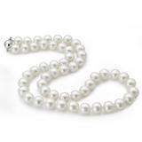 珍饰/dear pearl经典正圆天然珍珠项链