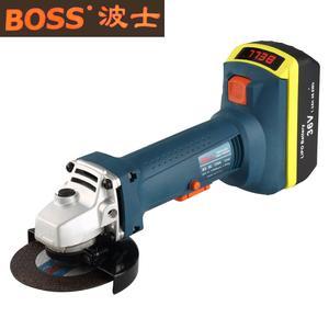 36V充电式角磨机BOSS波士电动工具角向磨光机