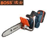 BOSS新款36V无刷充电式电链锯锂电电动工具