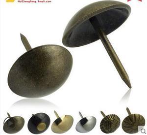 铜钉古铜图钉装饰钉门钉 沙发钉大头钉按钉古铜钉