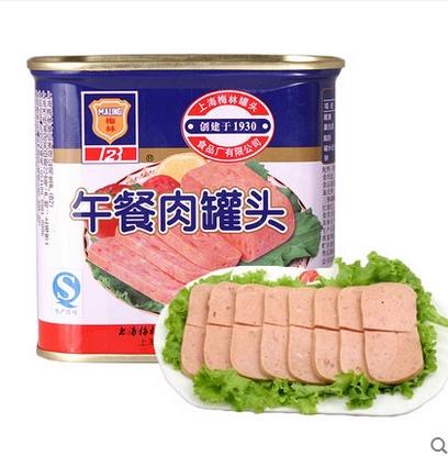 上海梅林股吧_上海梅林午餐肉340g