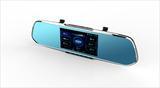 安培A505HD超强夜视行车记录仪5寸IPS超高清
