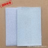 厂家直销 金牛白砂拉绒片 植绒砂纸片 五金研磨绒布