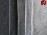 供应1-7#麻灰摇粒绒布/短纤摇粒绒面料