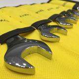得邦工具套装镜面开口扳手八件套   5.5-27