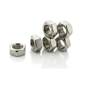 定制非标件不锈钢六角细牙螺母M8-M20细牙螺帽