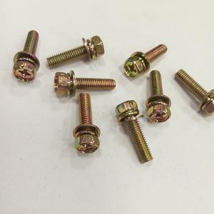 十字槽六角头组合螺钉三组合外六角螺丝520厂家批发