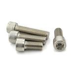304不锈钢 圆柱头内六角螺栓 定制非标螺丝钉子