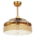 隐形吊扇灯 LED风扇灯客厅餐厅卧室家用简约现代