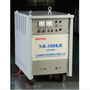 上海通用电焊机晶闸管控制气体保护焊机NB-500K
