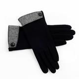 不倒绒女士手套秋冬保暖手套