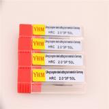 台湾正品YHM铝用钨钢刀铣刀 2.0*3F*50L