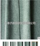 厂家直销灰色双面羊毛呢布料双面呢面料100羊毛秋冬
