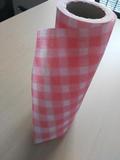 印花水刺布