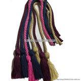 扭绳 各种涤纶 人造丝3股扭绳 流苏吊绳 可定做