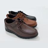 上海意尔康男士日常休闲深口单鞋系鞋带