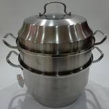 山丽特欧香系列二层双蓖通用蒸锅