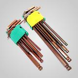 六角扳手套装 五金工具 德国品质 进口S2球头