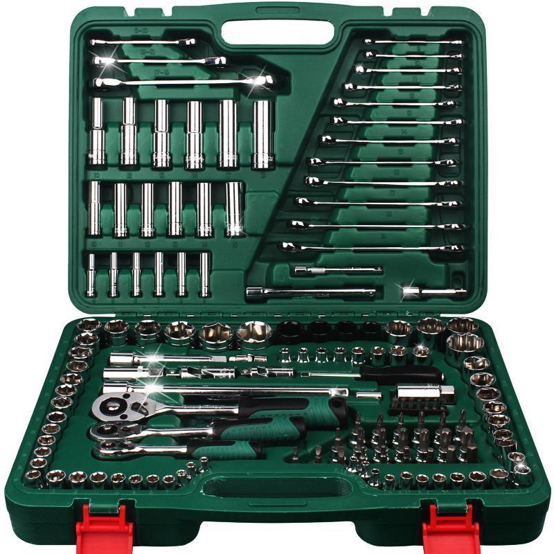特斯精品工具 37件套机修组套/套筒扳手工具大图一