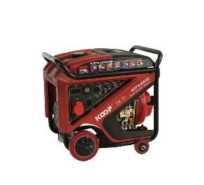 科普KOOP柴油发电机开架式KDF8500XE