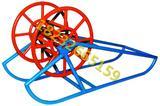 钢丝绳带钢盘 钢丝绳线盘架钢丝绳线盘架 钢丝绳线盘