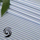 蓝色条纹制服面料【T55-1586】
