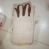 加厚帆布手套 耐油耐磨机械机床加大劳保电焊防护手套