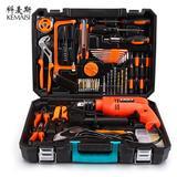 科麦斯王者电钻工具套装 家用工具维修组合