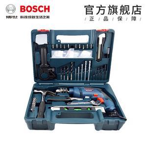 博世家用冲击钻电钻套装多功能手电钻GSB600RE