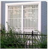 彩钢防盗窗 拉伸不锈钢防护窗 折叠窗