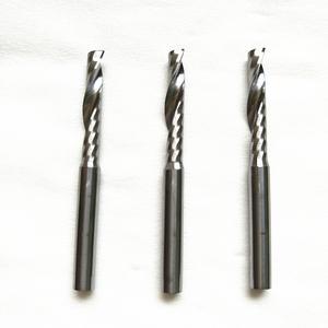 钨钢铣刀批发 単刃螺旋铣刀 木工雕刻刀 切割刀