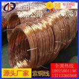tu1无氧铜线 镀钛紫铜线 C1201磷脱氧铜线