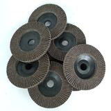 加厚手磨机百叶轮 不锈钢金属打磨片砂布轮木工抛光片