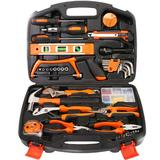 手动五金工具套装木工电动工具箱家用套装组合
