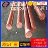 T2紫铜棒 进口紫铜棒 C1020磷脱氧铜棒