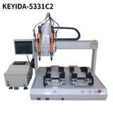 KEYIDA全自动螺丝机机器人 吹气式 双批双平台