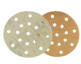 3M236U5寸圆盘砂纸3M背绒吸尘干磨砂碟3