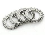 不锈钢锁紧垫圈 不锈钢外齿锁紧垫圈