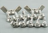 304不锈钢蝶型螺母 不锈钢羊角螺母