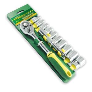 胜达工具 1/2寸12件塑夹套筒工具套装 机修汽修