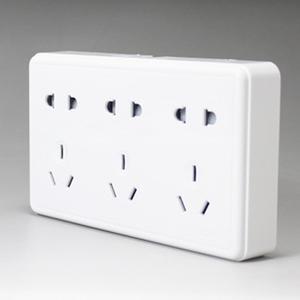 正泰开关插座NEW1-C11500明装十五孔插座